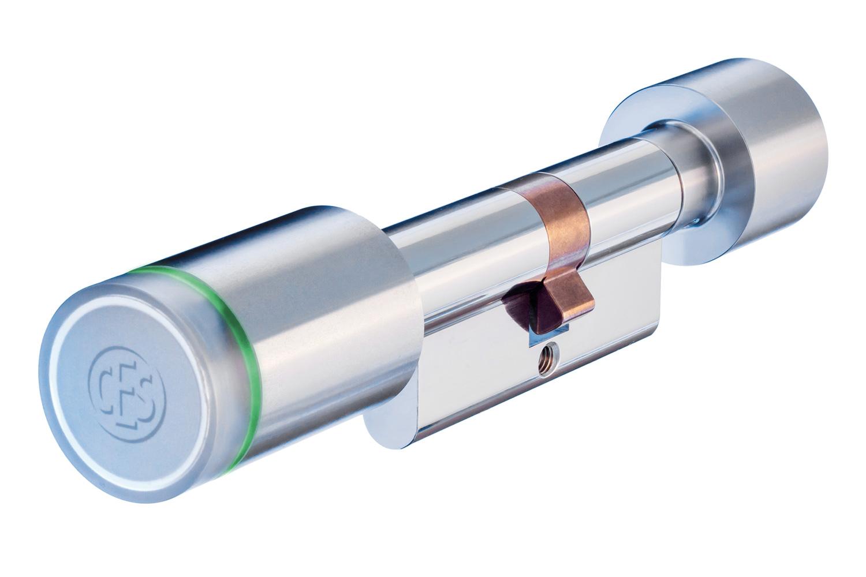 Elektronischer CES Omega Flex Zylinder für Haustür, Wohnungstür oder Gewerbe