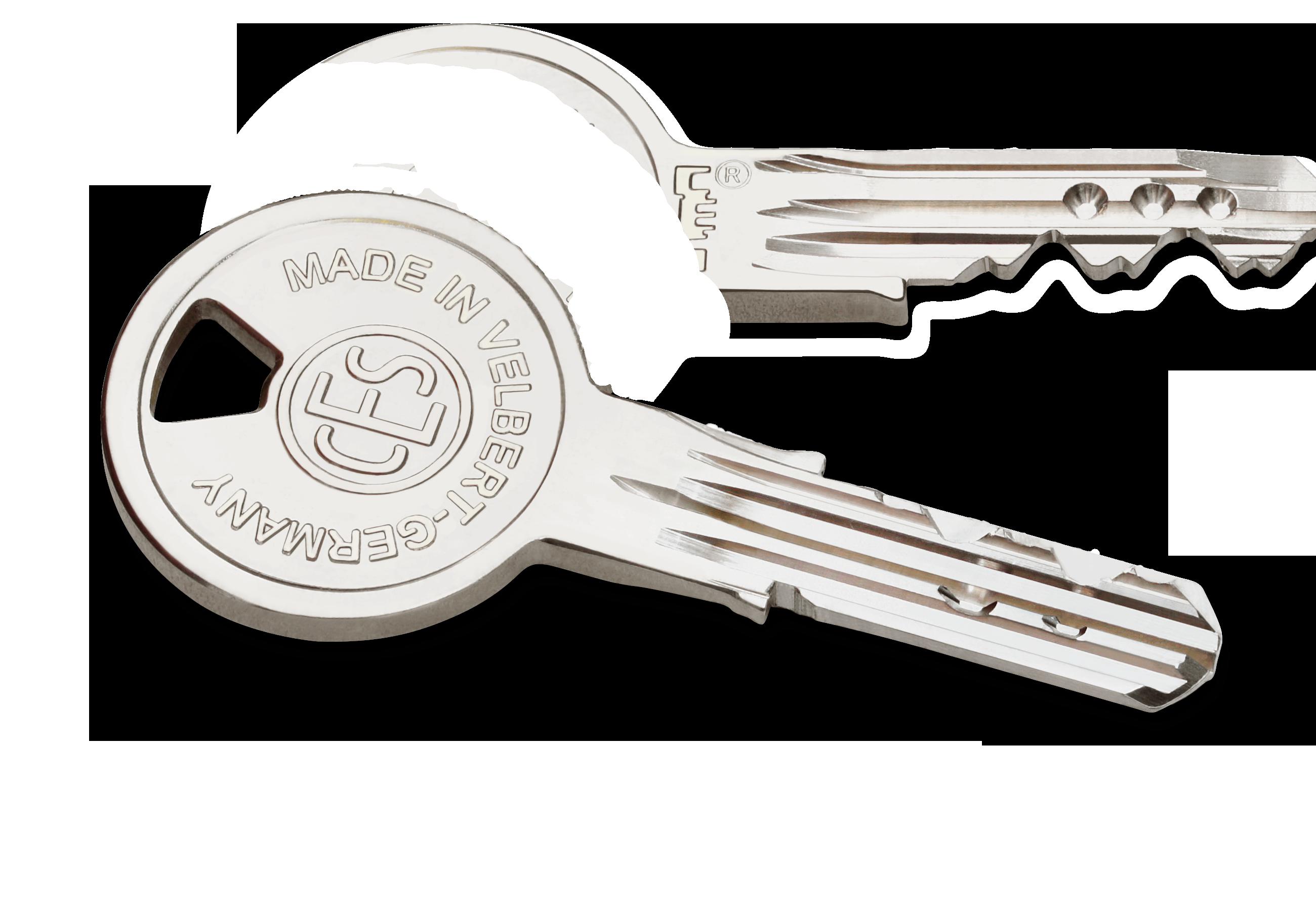 Einzelschlüssel, Nachschlüssel, Ersatzschlüssel für CES Zylinder