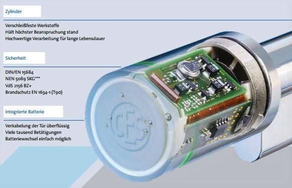 Elektronischer Schließzylinder von CES