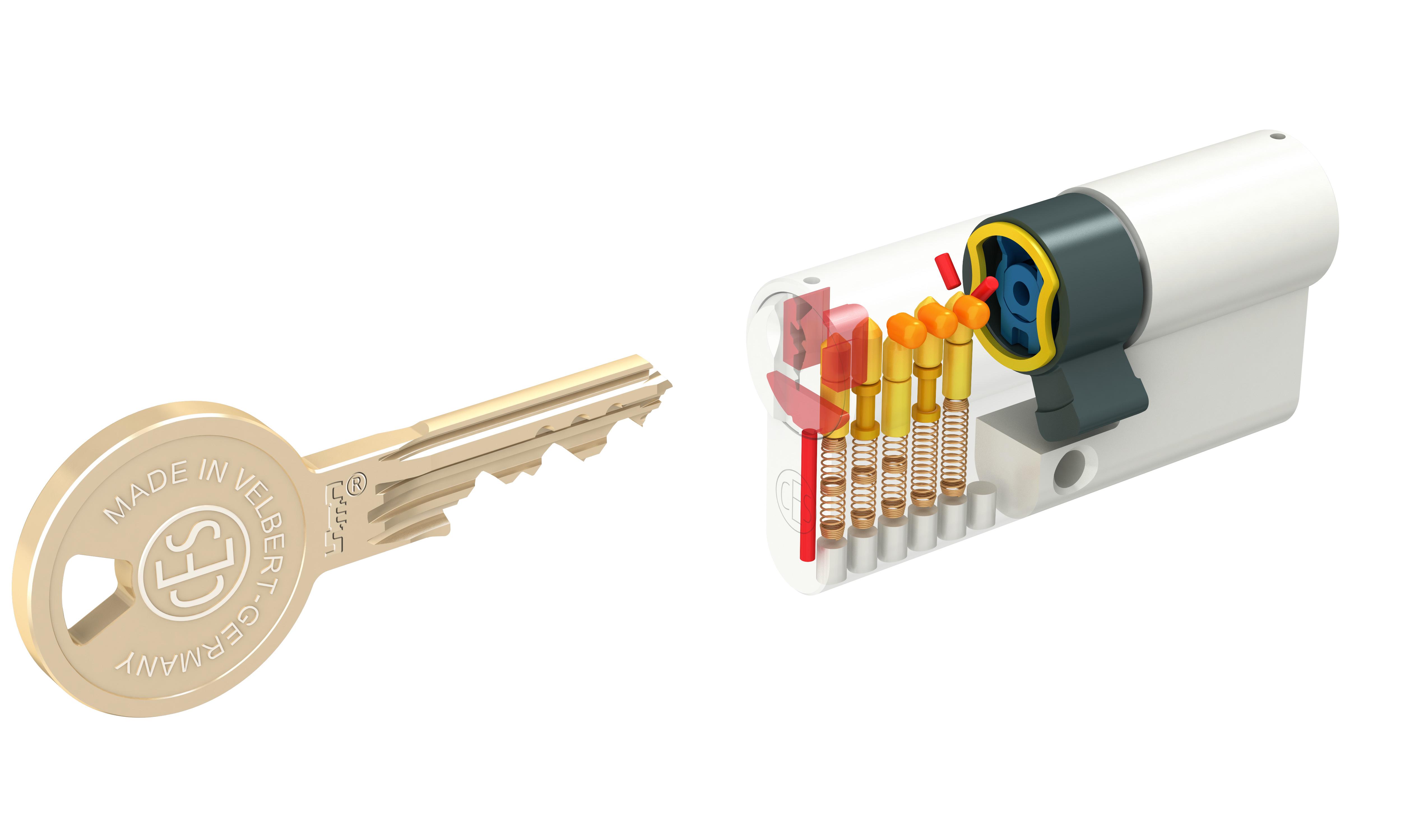Konventioneller Sicherheitszylinder von CES