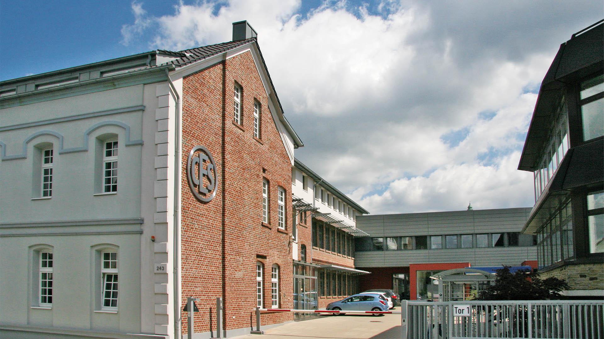 Eingang CES Zylinderschlossfabrik