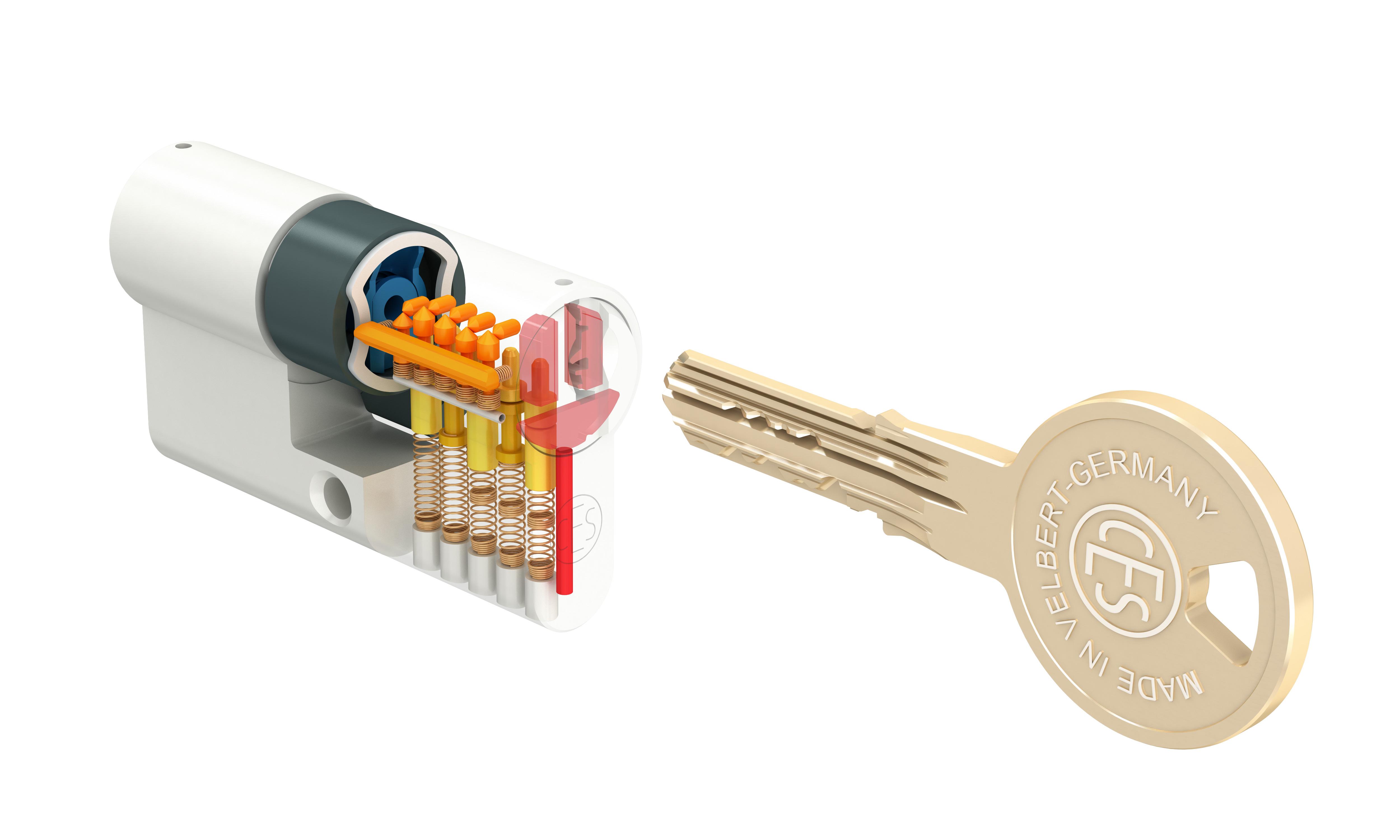 VdS zertifizierter Sicherheitszylinder von CES