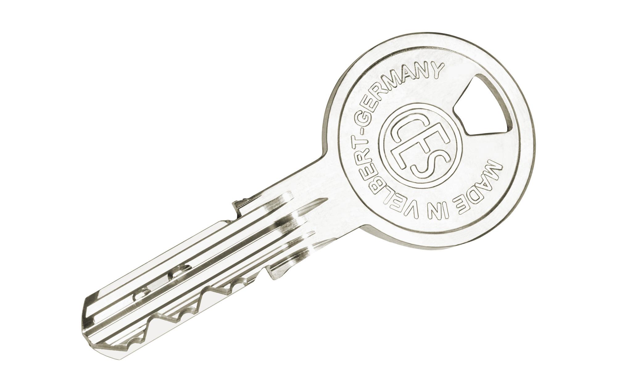 Schlüssel mit Wendeschlüsselprofil