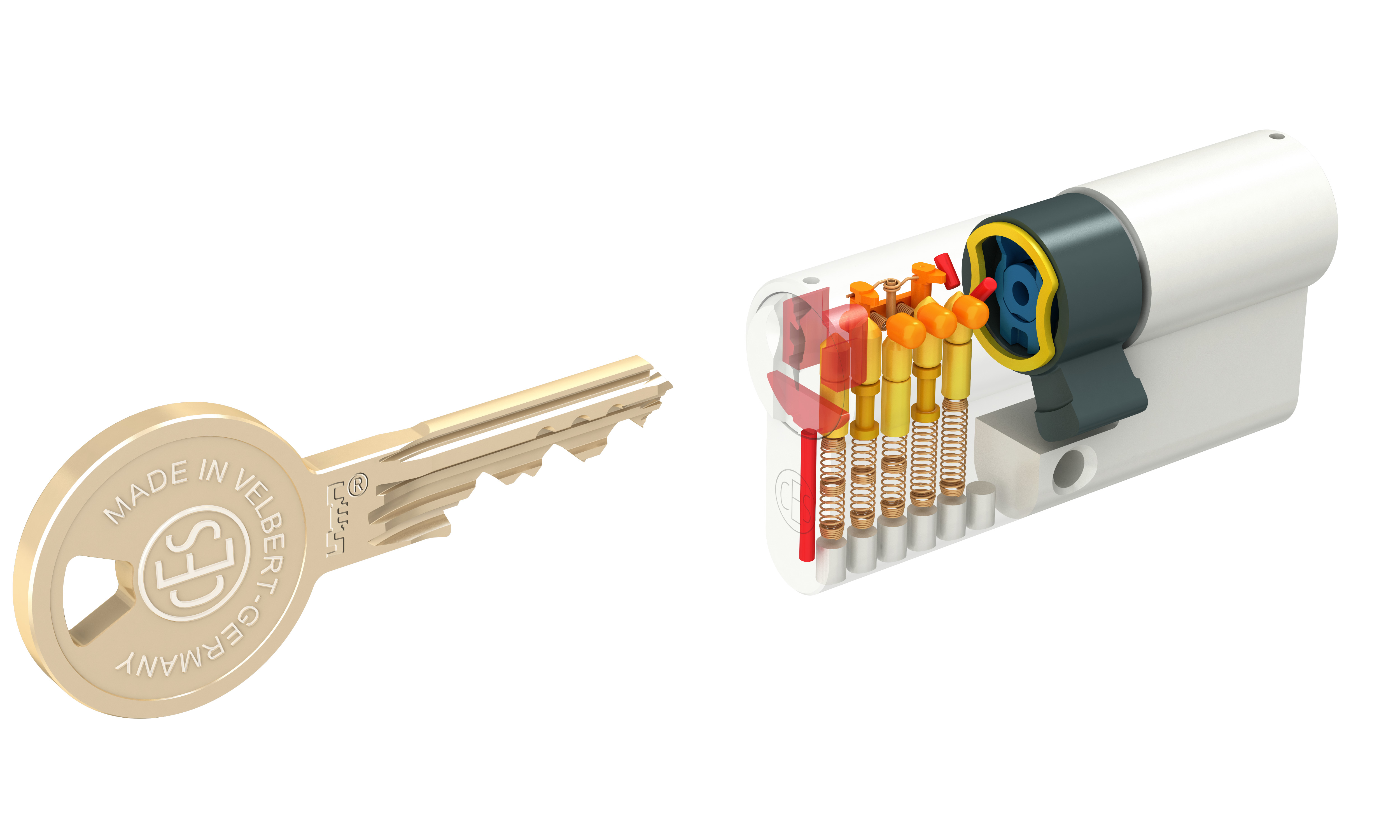 Wendeschlüssel Sicherheitszylinder von CES